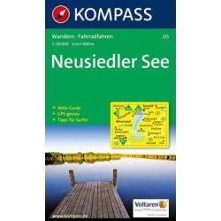 215. Neusiedler See turista térkép Kompass 1:50 000