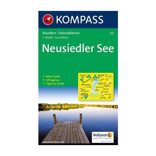 215 Neusiedler See Turista Terkep Kompass 1 50 000