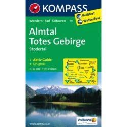 19. Almtal turista térkép Kompass 1:50 000