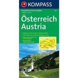 308. Österreich, 1:300 000 térkép autós