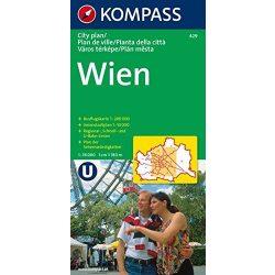 429. Wien CityPlan, 1:18 000 várostérkép