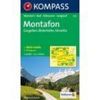 032. Montafon turista térkép Kompass 1:25 000