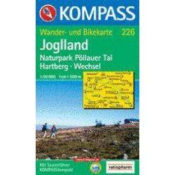 226. Joglland turista térkép Kompass 1:50 000