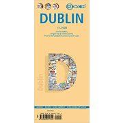 Dublin térkép 1:12 000 vízhatlan Borch Map