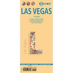 Las Vegas térkép Borsch 1:20 000