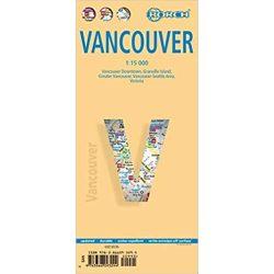 Vancouver térkép Borch 1:15 000  2014
