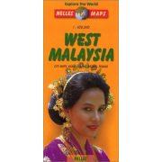 West Malaysia térkép Nelles Malajzia térkép 1:650 000