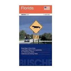 Florida térkép Busche Map 1:800 000