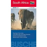 Dél-Afrika térkép Busche Map 2011   1 : 2 200 000 South Africa térkép