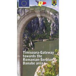 Vaskapu térkép, Románia térkép, Szerbia térkép, Timisoara-Gateway térkép Huber verlag 1:260 000