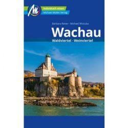 Wachau útikalauz német nyelvű Michael Müller Kiadó Waldviertel, Weinviertel, Wachau turistatérkép 2020