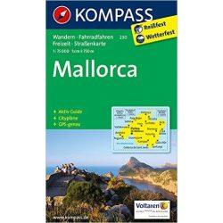 230. Mallorca térkép Kompass 1:75 000
