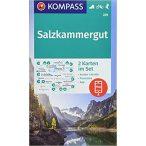 229. Salzkammergut turista térkép Kompass 1:50 000
