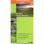 Macin hegység turista térkép Zenith 1:50 000  2013