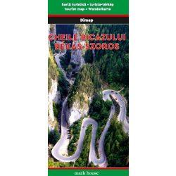 Gyilkos-tó térkép és Békás Szoros környéke térkép Dimap Bt. 2017 1:15 000