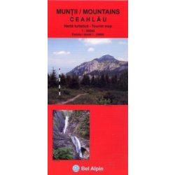 Csalhó turistatérkép Bel-Alpin 1:50 000