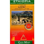 Etiópia térkép Gizi Map 1:2 000 000