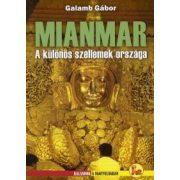 Mianmar útikönyv Dekameron kiadó