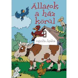 Állatok a ház körül - kifestőkönyv Ventus Libro Kiadó
