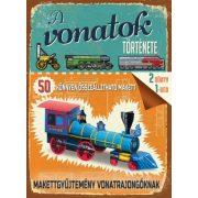 A vonatok története könyv Ventus Libro Kiadó, Vonat makettek, Makettgyűjtemény vonatrajongóknak