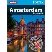 Amszterdam útikönyv Lingea-Berlitz Barangoló 2017