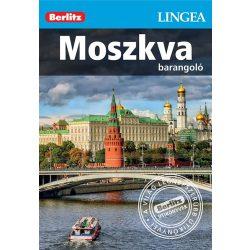 Moszkva útikönyv Lingea-Berlitz Barangoló 2017