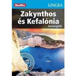 Zakynthos és Kefalónia útikönyv Lingea-Berlitz Barangoló  Zakhyntos útikönyv 2017