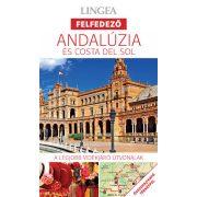 Andalúzia útikönyv Andalúzia és Costa del Sol útikönyv Lingea Felfedező 2019