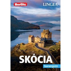 Skócia útikönyv Lingea-Berlitz Barangoló 2019