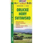 SC 211. Orlické hory turista térkép, Svitavsko térkép Shocart 1:100 000