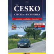 Csehország atlasz Shocart 1:200 000