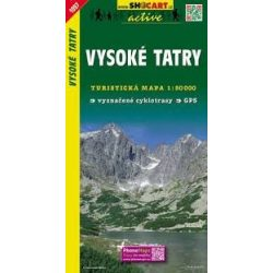 SC 1097. Vysoké Tatry, Magas Tátra turista térkép Shocart 1:50 000