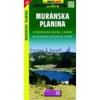 SHC 1105. MURÁNSKA PLANINA / MURÁNYI FENNSÍK TURISTATÉRKÉP