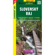 SC 1106. Slovensky Raj Szlovák Paradicsom turista térkép SC Shocart 1:50 000