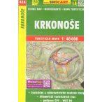SC 424. Krkonoše turista térkép, Óriás-hegység turistatérkép  Shocart 1:50 000