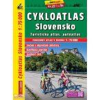 Szlovákia kerékpáros térkép Shocart 1:75 000  2018 Szlovákia kerékpáros atlasz Shocart SHC CY4781