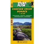 5008. The Chocské Vrchy Mts. turista térkép Tatraplan 1:50 000