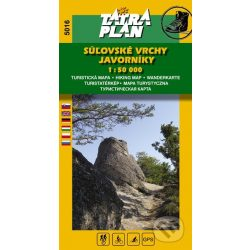 5016. Súľovské vrchy, Javorníky turista térkép Tatraplan 1:50 000