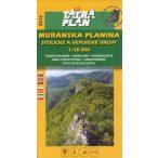 5014. Muránska Plain Planina turista térkép Tatraplan 1:50 000