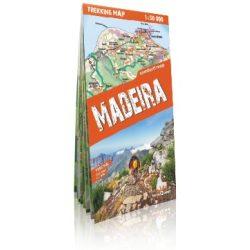 Madeira térkép fóliás Expressmap Madeira trekking térkép