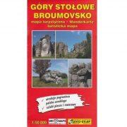 Góry Stołowe, Broumovsko turista térkép Dél-Nyugat Lengyelország 1:50 000 Eko-Graf 2016