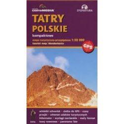 Lengyel Tátra turista térkép Sygnatura 1:30 000