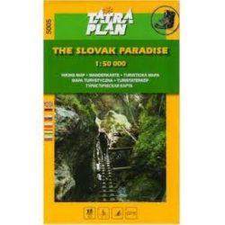 5005. Slovensky Raj Szlovák Paradicsom turista térkép Tatraplan 1:50 000