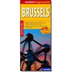 Brüsszel térkép ExpressMap 1:13 000 Brüsszel (map&guide) laminált térkép