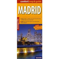 Madrid térkép ExpressMap laminált