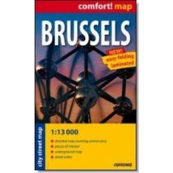 Brüsszel térkép ExpressMap 1:13 000 Brüsszel zsebtérkép
