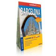 Barcelona zsebtérkép ExpressMap 1:20 000  2014