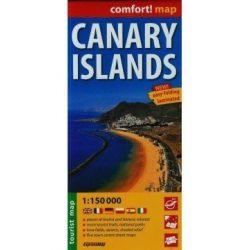Kanári szigetek térkép fóliás Exressmap 1:150 000