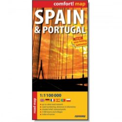 Spanyolország autós térkép és Portugália autós térkép Expressmap 1:1 100 000