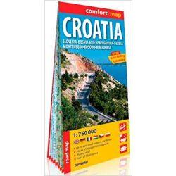 Horvátország autós térkép ExpressMap Horvátország térkép 1:750 000